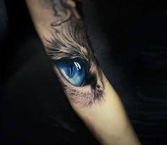 Wolf Eye Tattoo, Tigeraugen Tattoo, Kurt Tattoo, Tigre Tattoo, Tattoo Gato, Tiger Eyes Tattoo, Husky Tattoo, Cat Eye Tattoos, Wolf Tattoo Sleeve