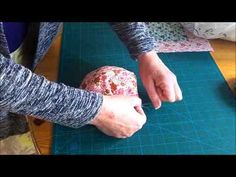 alfombra bebe puff quilt - YouTube