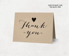 Wedding Thank You Card  Chevron Style  Templates