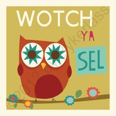 "Geordie Mugs Wotch Ya Sel Card - watch yourself  www.wotmalike.co.uk £2.20 Free Postage ""Wotch Ya Sel Card"" MADE IN UK! www.wotmalike.co.uk creators of Geordie Gifts, Geordie Mugs and Cards for Geordies and those who get choked up seeing the Angel of the North."