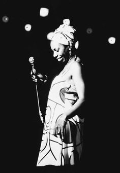 Nina Simone. Musician, activist, sixth child of an American preacher's family. Left us in 2003.