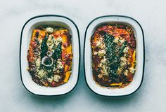 Butternut and Kale Lasagne with Quinoa and Red Pepper Sugo — Nourish Atelier