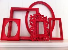 cool idea - painted frames
