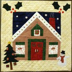 holiday house october by debra gabel quilt kit at quilt. Black Bedroom Furniture Sets. Home Design Ideas