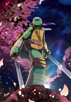 OP: I've wanted an image of Leo in a Japanese style setting for ages (Cmon season five! Do iiit)