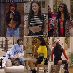 Ashely Banks Outfits #90SFashionTrends