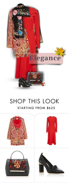 """""""02.10.2016"""" by bliznec-anna ❤ liked on Polyvore featuring Etro, Prabal Gurung, Delpozo, Nicholas Kirkwood and Temperley London"""