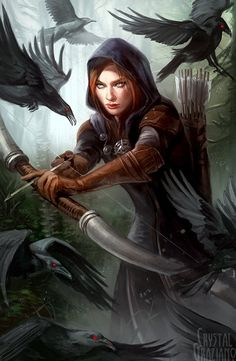 Dragon Age Inquisition Leliana the Spymaster Open Edition Art Print 11x17 inch