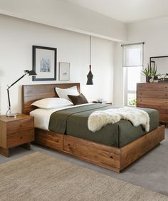 Hudson Dressers with Wood Base - Dressers - Bedroom - Room & Board