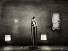 Strangely Beautiful Dark Art... ~ The Roaming Gypsy Angel