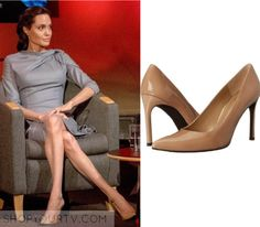 BBC Interview: May 2016 Angelina's Nude Pumps