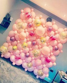 Unique and Bespoke Event Decor Balloon Backdrop, Balloon Columns, Balloon Garland, Love Balloon, Balloon Wall, Balloon Ideas, Birthday Balloon Decorations, Birthday Backdrop, Round Balloons