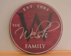 wooden signs monograms - Google Search