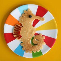 seahorse pancake
