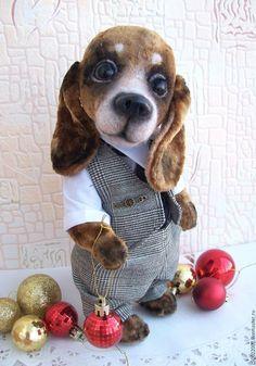 Мишки Тедди ручной работы. Ярмарка Мастеров - ручная работа. Купить Тимми. Handmade. Коричневый, щенок, сувениры и подарки