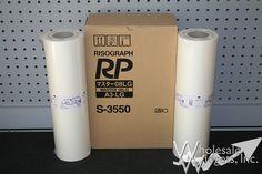 Riso S3550 Duplicator Masters
