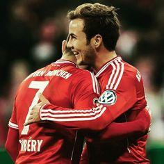 Gotze & Ribery