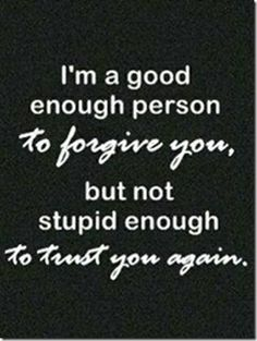 Have an ex friend this applies to you know who you are....