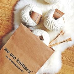 The Wool in Natural   We Are Knitters