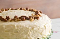 Carrot Cake recipe from Food in a Minute