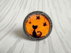 Black Cat poignées des tiroirs boutons tire / armoires de