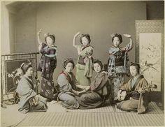 Dancing Party by Kusakabe Kimbei