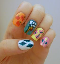My Little Pony: Friendship is Magic - for Rainbow Honey's nail art contest