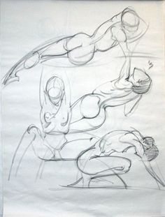 April Connors | Dynamic Gesture Drawing | Saturdays www.laafa.org/classes