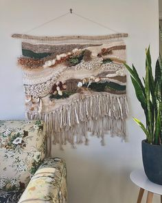 I will be commissioning a hugs wall hanging like this when we find the right house! SO in love with these by Fossil Cove Weaving in Tassie Beach House Decor, Home Decor, Smile Face, Hugs, Fossil, Weaving, Board, Wall, Big Hugs
