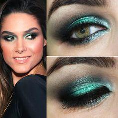 Tutorial inspirado em maquiagem verde menta de Fernanda Machado » Pausa para FeminicesPausa para Feminices