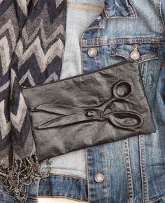 i love sewing!: leder prägen