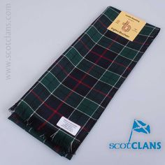 wool scarf in Leslie hunting modern tartan  - from scotclans