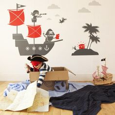 Pirates Wall Stickers | ASPACE