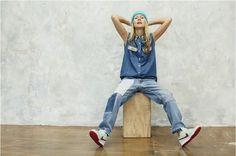 Natalie Joos wearing Bsides on Tales of Endearment blog