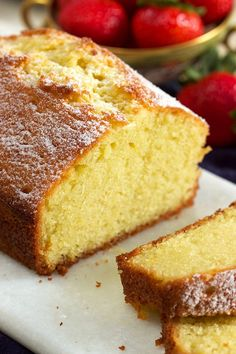 Super easy to make the very BEST Pound Cake recipe with a secret ingredient you won t want to miss Total game changer this recipe is simple and perfect every single time suburbansoapbox poundcake baking recipe bestpoundcake cake Best Pound Cake Recipe Ever, Pound Cake Recipes, Easy Cake Recipes, Baking Recipes, Dessert Recipes, Gluten Free Pound Cake, Baking Hacks, Loaf Recipes, Baking Tips