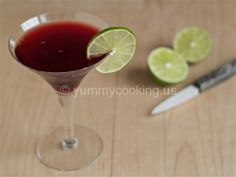 Tart Cherry Cocktail | Yummy Cooking
