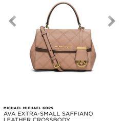 NWT. Ava mini saffiano leather crossbody A brand new, unused beautiful bag. A stylish mini version of Ava satchel. FIRM Price.  No trade. MICHAEL Michael Kors Bags Crossbody Bags