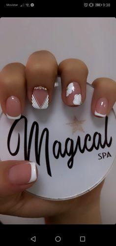 Angel, Nails, Beauty, Fashion, Short Nail Manicure, Nail Manicure, Gel Nail Art, Feet Nails, Cute Nails