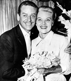 Press Photo Singer Patti Page Weds Dance Director Charles O'Curran
