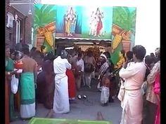 Hamm Uentop:Erste Prozession der Göttin Sri KamadchiAmpal 1997.Von Faust...