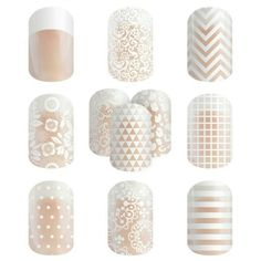 Jamberry Nails Clear Wraps ~ Order yours at msmeesh.jamberry.com