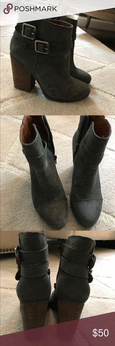 Vince Camuto grey booties Vince Camuto grey booties Vince Camuto Shoes