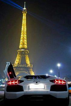 Paris and Lamborghini.