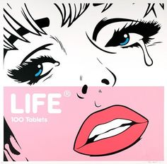 Ben Frost Life 100 Tablets (Pink) / Prints / No Walls Gallery, Brighton