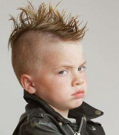 Short hair cut for toddler boy, mohawk Little Boy Hairstyles, Baby Boy Haircuts, Long Bob Hairstyles, Kids Cuts, Boy Cuts, Boys Mohawk, Short Hair Cuts, Short Hair Styles, Childrens Haircuts