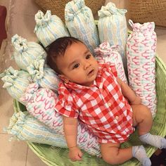 When sweet Baby A comes by and lounges so cozily on our baby bolsters we know he approves! Selection of baby and toddler bedding, stationary, and more at our popup: we will be open today at Beit Sadu from 10am to 8pm. #ecru #thelilones #kids #bedding #prints #natural #cotton #handblock #design #decor #interiors