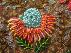 I ❤ embroidery . . .  stunning work!  ~by Domi Bidouilles