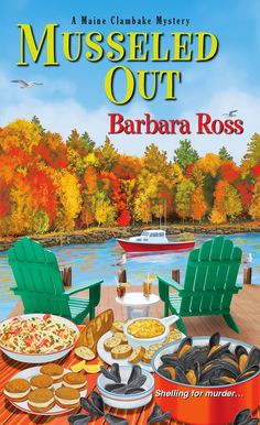 MysteryLoversKitchen.com Welcome Guest @BarbaraRoss  with Genevieve's Mussels, + book @giveaway on the blog!