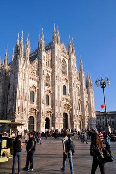 Milan's Duomo, Milan, Italy