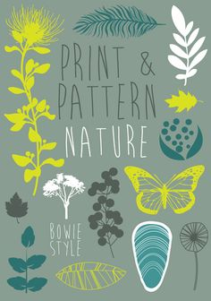Call for Entries on the blog today - submit your designs for the new P&P book : Print & Pattern Nature